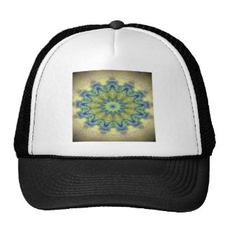 Kaleidoscope design product image-made with love mesh hat