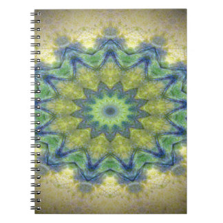 Kaleidoscope design product image-made with love spiral notebooks