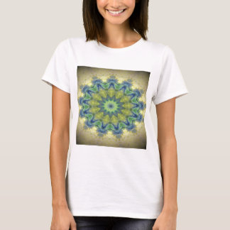 Kaleidoscope design product image-made with love T-Shirt