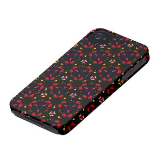 Kaleidoscope Dreams Hearts iPhone 4 Cover