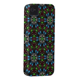 Kaleidoscope Dreams in Blue and Green iPhone Case iPhone 4 Cover