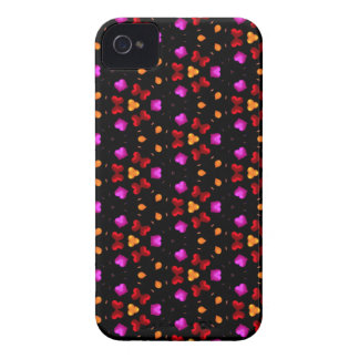 Kaleidoscope Dreams Kissing Hearts Case-Mate iPhone 4 Cases