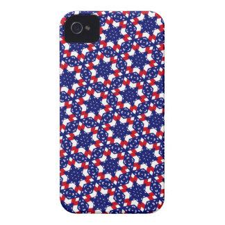 Kaleidoscope Dreams Patriotic Themes iPhone 4 Case