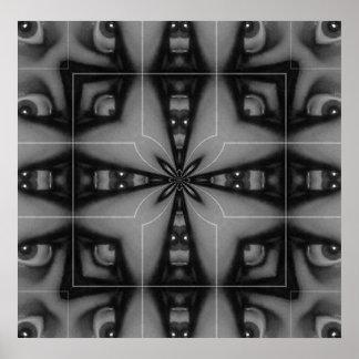 Kaleidoscope Eye II Poster