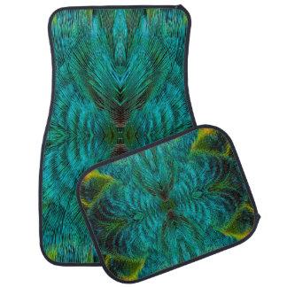Kaleidoscope Feather Design Floor Mat