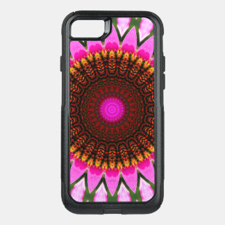 Kaleidoscope Floral Mandala in Hungary: Ed. 197.6 OtterBox Commuter iPhone 8/7 Case