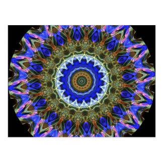 Kaleidoscope Fractal 255 Postcard