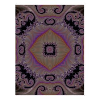 Kaleidoscope Fractal 2 Postcard
