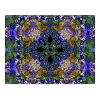 Kaleidoscope Fractal 384 Postcard