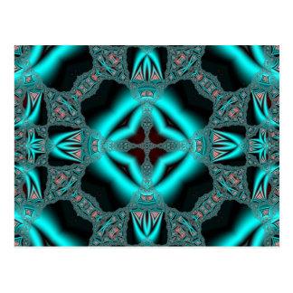 Kaleidoscope Fractal 505 Postcard