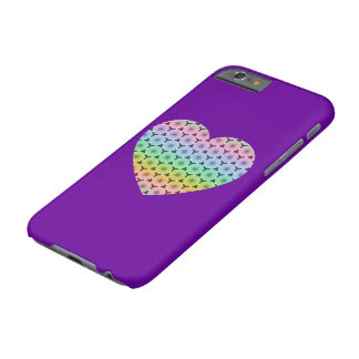 Kaleidoscope honeycomb rainbow heart iPhone 6 Barely There iPhone 6 Case