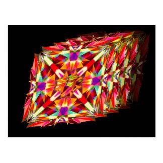 Kaleidoscope in Motion Postcard