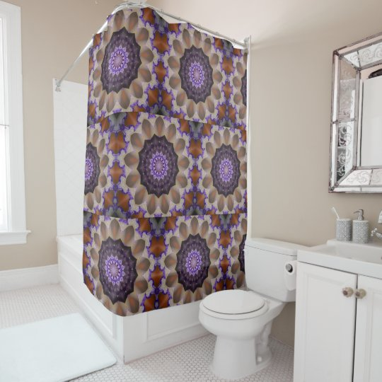 Kaleidoscope Iris Shower Curtain