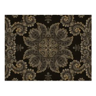 Kaleidoscope Kreations Black Tapestry 3 Postcard