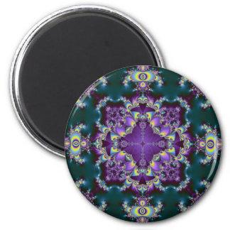 Kaleidoscope Kreations Elektrik Sky No.2 6 Cm Round Magnet