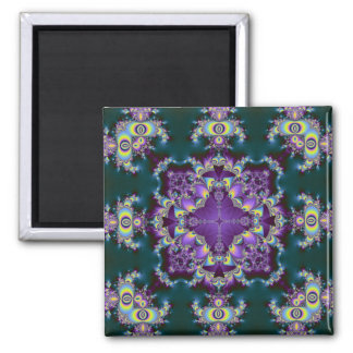 Kaleidoscope Kreations Elektrik Sky No.2 Square Magnet