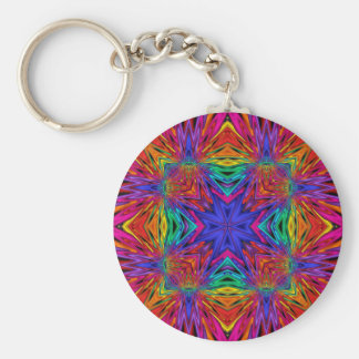 Kaleidoscope Kreations Flashing Fractal No4 Key Chains