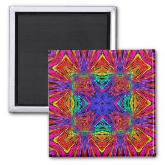 Kaleidoscope Kreations Flashing Fractal No4 Fridge Magnets