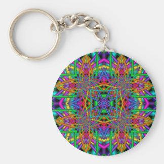 Kaleidoscope Kreations Fun Fractals No 2 Key Chains