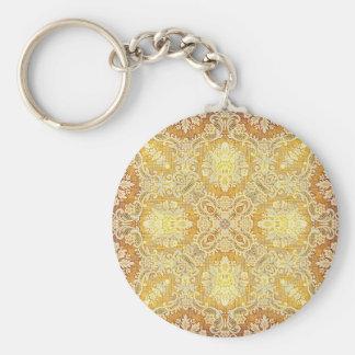 Kaleidoscope Kreations Lemon Tapestry 3 Key Chain