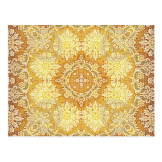 Kaleidoscope Kreations Lemon Tapestry 4 Postcard