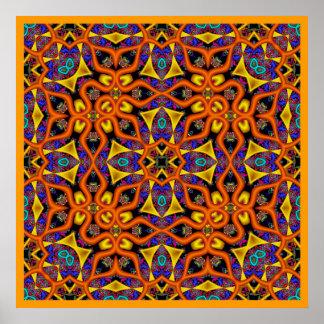 Kaleidoscope Kreations Mandarin Magic Poster