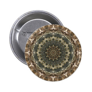 Kaleidoscope Kreations Moth Wing 1 Button 2 Inch Round Button