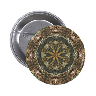 Kaleidoscope Kreations Moth Wing 3 Button 2 Inch Round Button