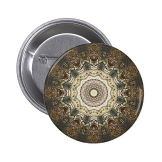 Kaleidoscope Kreations Moth Wing 4 Button 2 Inch Round Button