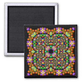 Kaleidoscope Kreations Precious Petals No 1 Square Magnet