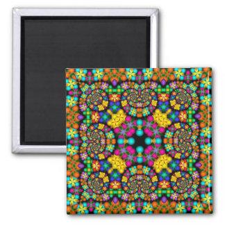 Kaleidoscope Kreations Precious Petals No 3 Square Magnet