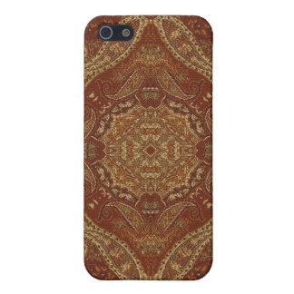 Kaleidoscope Kreations Rust Tapestry 4 iPhone 5/5S Cover