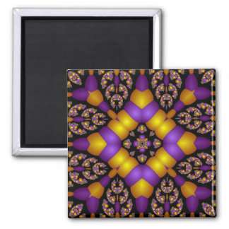 Kaleidoscope Kreations Twizzler No 1 Square Magnet