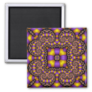 Kaleidoscope Kreations Twizzler No 2 Square Magnet