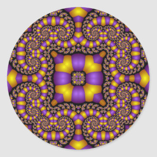 Kaleidoscope Kreations Twizzler No 2 Round Stickers