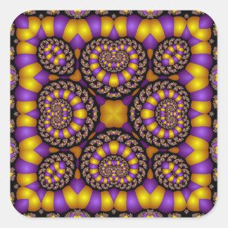 Kaleidoscope Kreations Twizzler No 4 Square Sticker