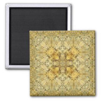 Kaleidoscope Kreations Vintage Baroque 3 Square Magnet