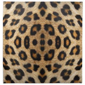 Kaleidoscope Leopard Fur Pattern Printed Napkins