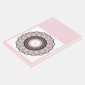 Kaleidoscope , mandala guest book