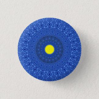 Kaleidoscope Mandala in Belgium LIMITED EDITION!!! 3 Cm Round Badge