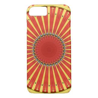 Kaleidoscope Mandala in Hungary: BigTop Pattern iPhone 8/7 Case