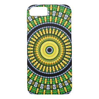 Kaleidoscope Mandala in Hungary: Pattern 197.3 iPhone 8/7 Case