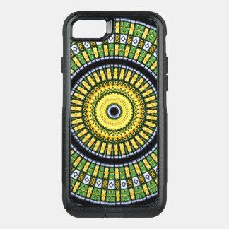 Kaleidoscope Mandala in Hungary: Pattern 197.3 OtterBox Commuter iPhone 8/7 Case
