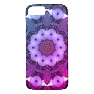Kaleidoscope Mandala in Hungary: ViceCity rmx Ed. iPhone 8/7 Case