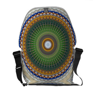 Kaleidoscope Mandala in Portugal: Embassy Pattern Courier Bag