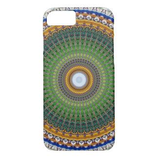 Kaleidoscope Mandala in Portugal: Embassy Pattern iPhone 8/7 Case