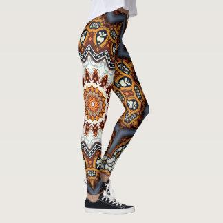 Kaleidoscope Mandala in Portugal: Pattern 224.11 Leggings