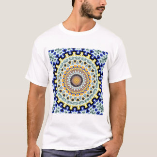 Kaleidoscope Mandala in Portugal: Pattern 224.3 T-Shirt