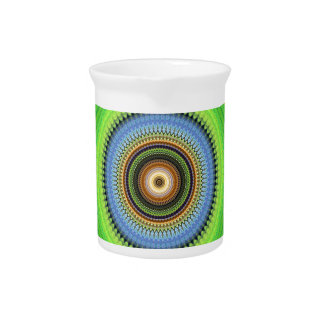 Kaleidoscope Mandala in Portugal: Pattern 224.5 Pitcher