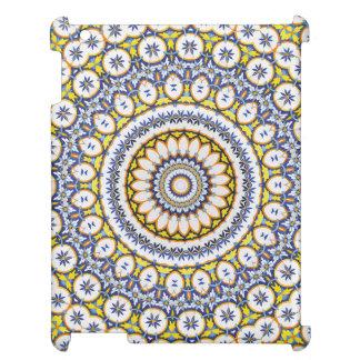 Kaleidoscope Mandala in Portugal: Pattern 224.7 iPad Case